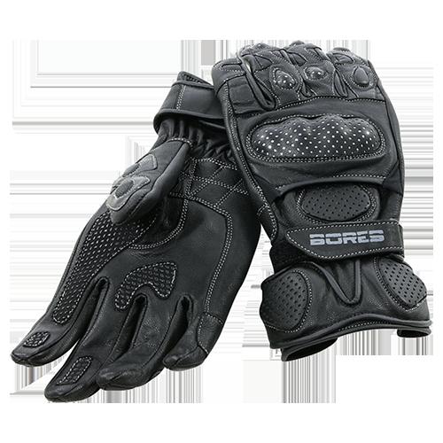 Bores Handschuhe Dark Black