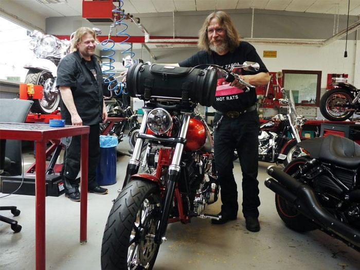 Holger und Männes Bike