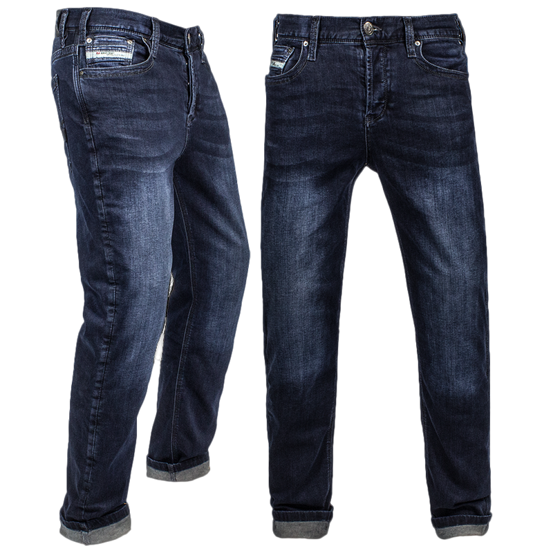 Bike Schmiede John Doe Jeans Men Dark Blue Used