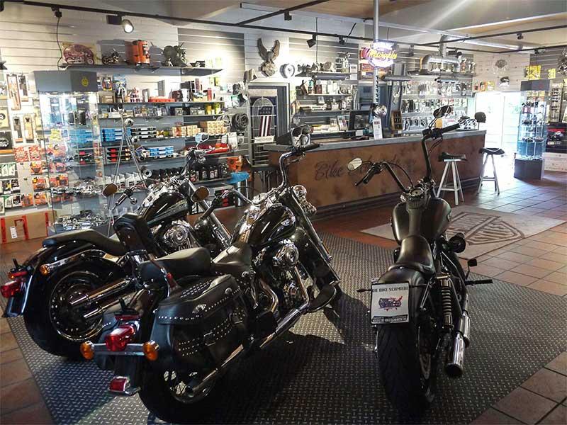 Verkaufsraum Bike Schmiede