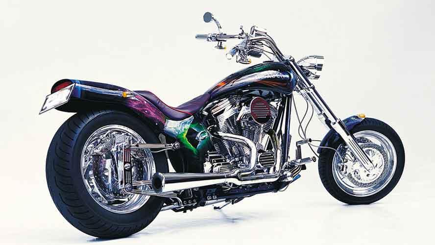 Custom Bike Invader rechte Ansicht