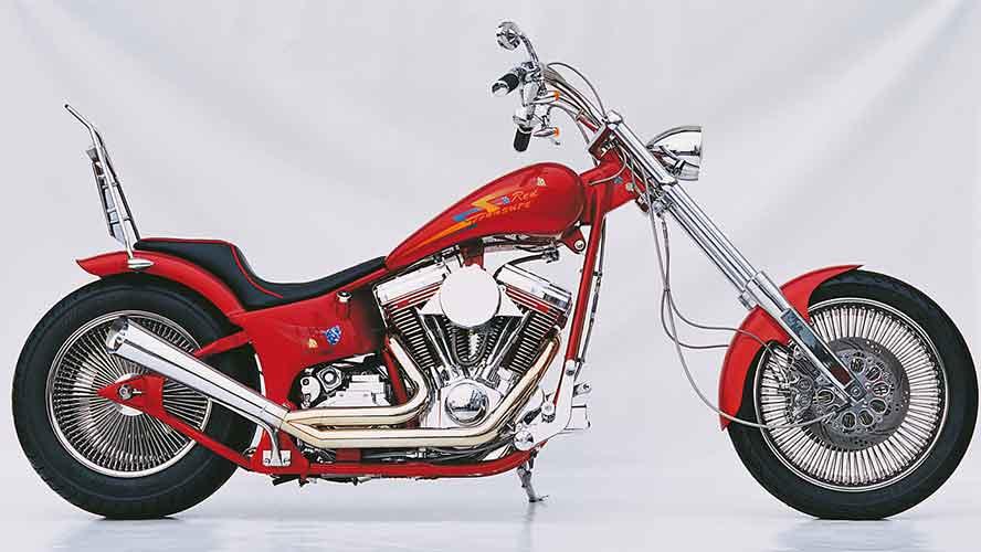 Custom Bike Red Tresure