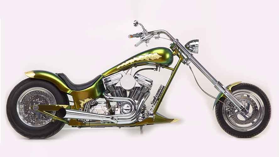 Skarabäus Custom Bike