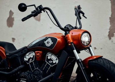 Indian Scout Bobber Lenker Umbau